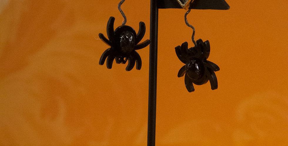 spiders! earrings