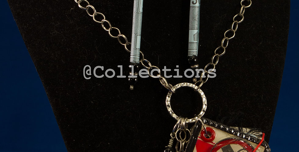 game book necklace