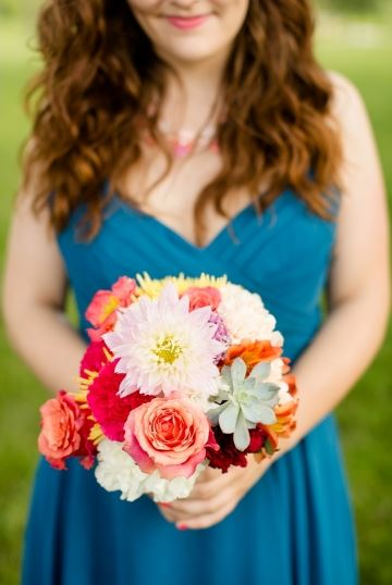 Petal Pushers STL bouquet