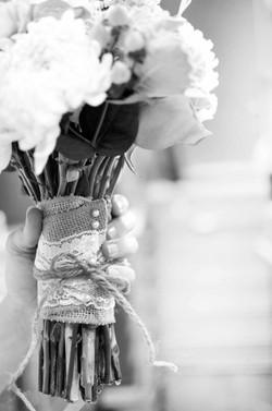 Rustic Bridal Bouquet Wrap