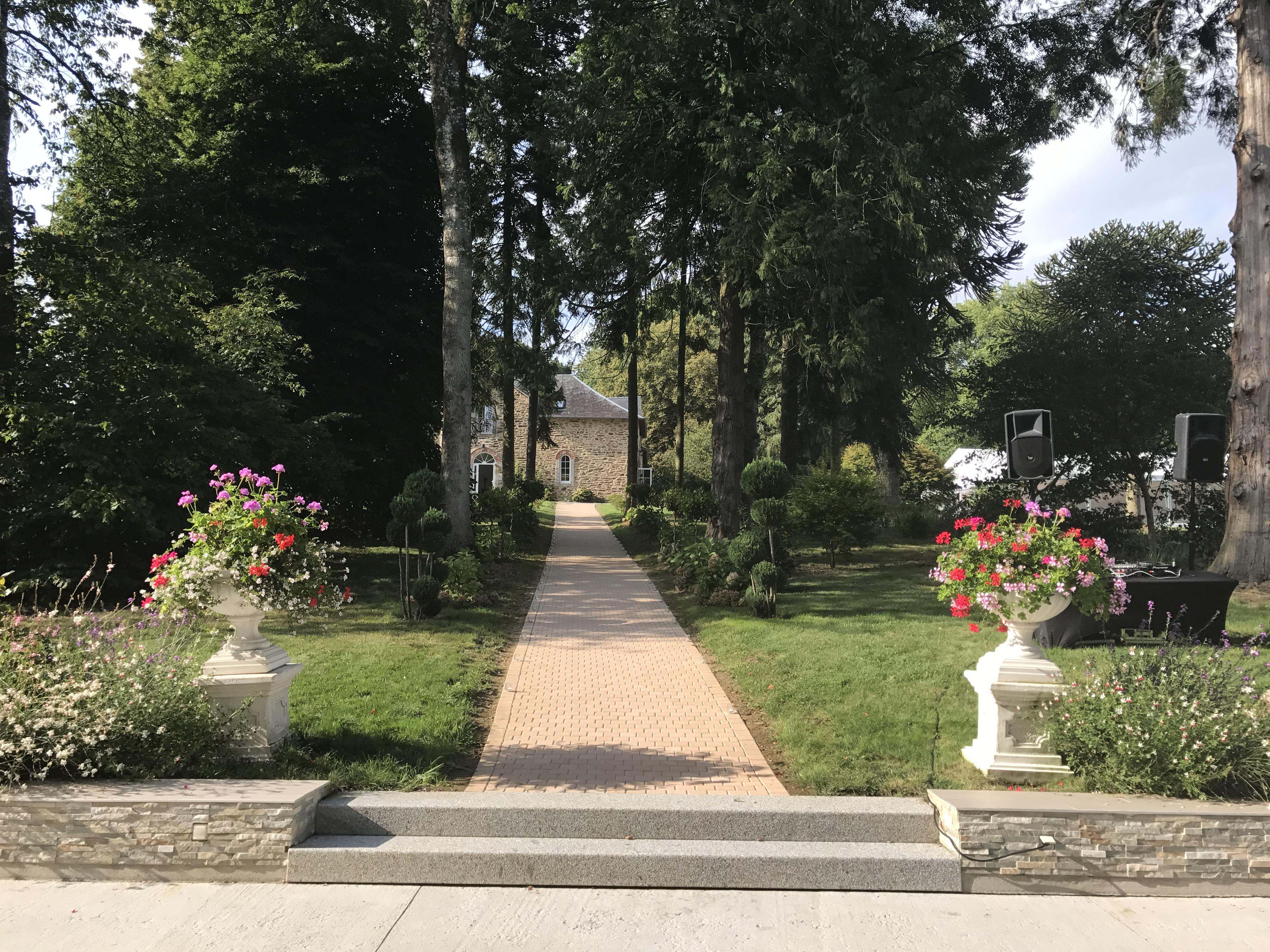 Chemin de terrasse
