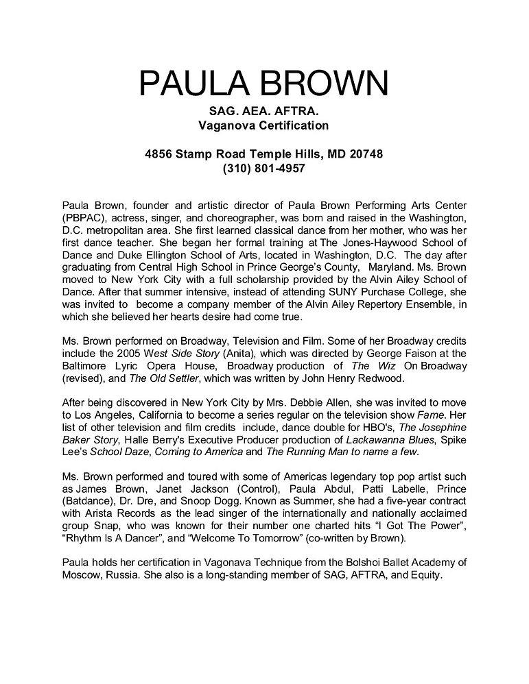 PAULA BROWN Bio 2020.jpg