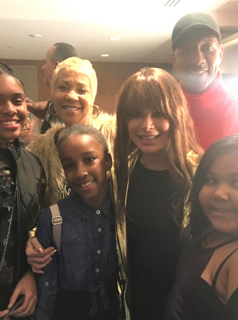 Backstage with Paula Abdul