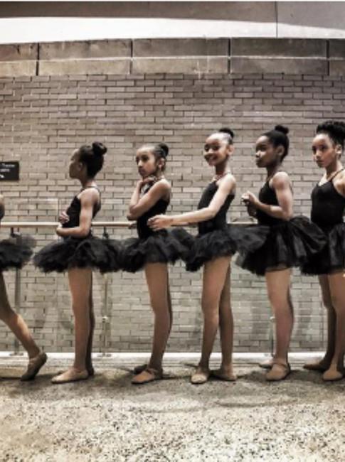 Brown Ballerinas (Pre-Performance)