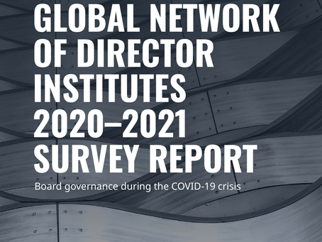 GNDI 2020-2021 Survey: Board Governance During the COVID19 crisis
