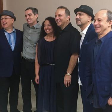 Brian Lynch, Fernando Huergo, Kim Nazarian, Guillermo Nojechowicz, Marco Pignataro, and Helio Alves — Photo Credit: Félix Corona