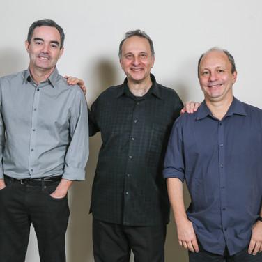 Fernando Huergo, Guillermo Nojechowicz, Helio Alves — Photo Credit: Félix Corona