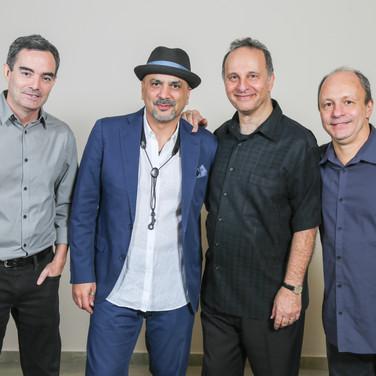 Fernando Huergo, Marco Pignataro, Guillermo Nojechowicz, Helio Alves – Photo Credit: Félix Corona