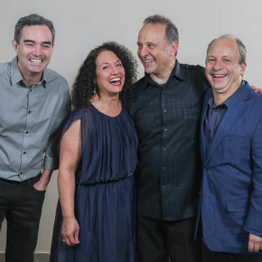 Fernando Huergo, Kim Nazarian, Guillermo Nojechowicz, Helio Alves – Photo Credit: Félix Corona