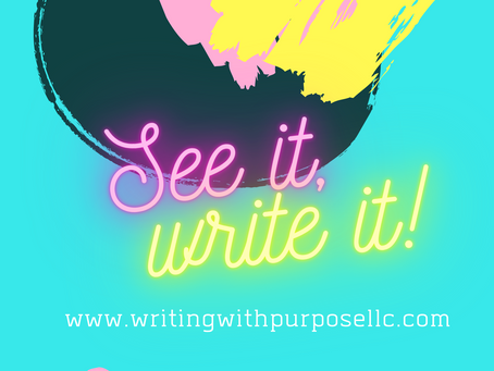 Whatever the vision is, write it down!