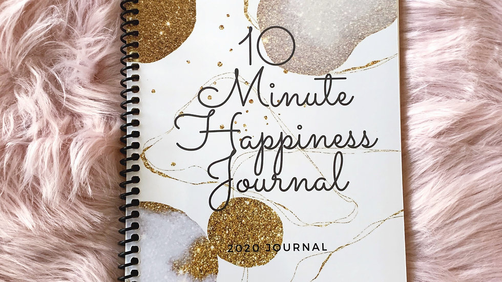 10 Minutes of Happiness Journal