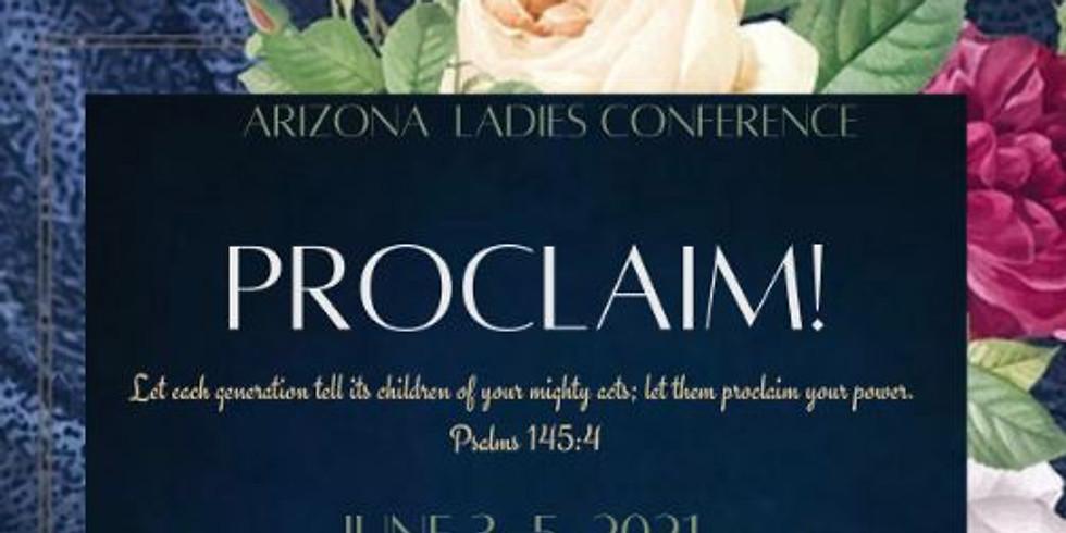 PROCLAIM! Arizona Ladies Conference