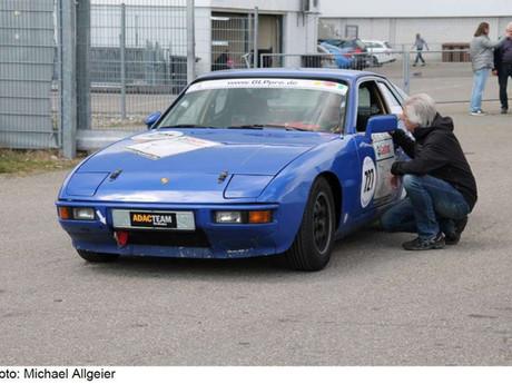 """Rundstreckensport für historische Rennfahrzeuge – """"GLPpro"""" auf Porsche 924"""