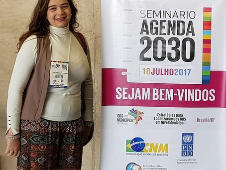 Seminário Agenda 2030: Estratégias para Localização dos ODS em Nível Municipal