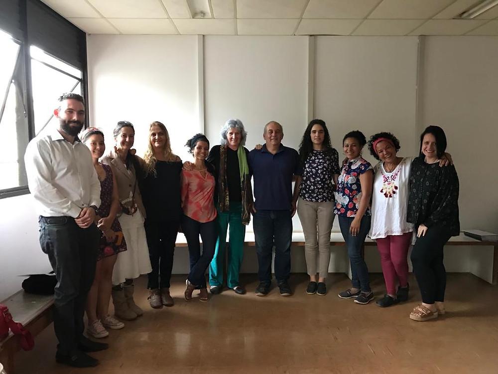Colaboradores do Núcleo de Práticas Integrativas e Complementares em Saúde de Alto Paraíso de Goiás