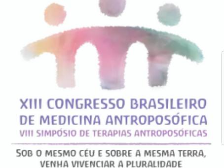 Médicos do Projeto Flor da Vida no Congresso Brasileiro de Medicina Antroposófica