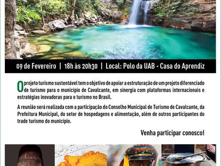 """Reunião """"Turismo Sustentável para o Desenvolvimento"""""""