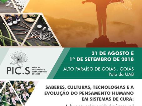 I Simpósio sobre Saúde Integrativa na Reserva da Biosfera do Cerrado em Goiás
