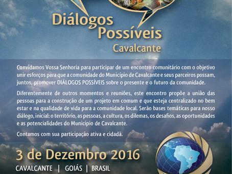 """Encontros """"Diálogos Possíveis"""""""