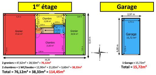 12 Plan BUIX 1er étage & garage.jpg
