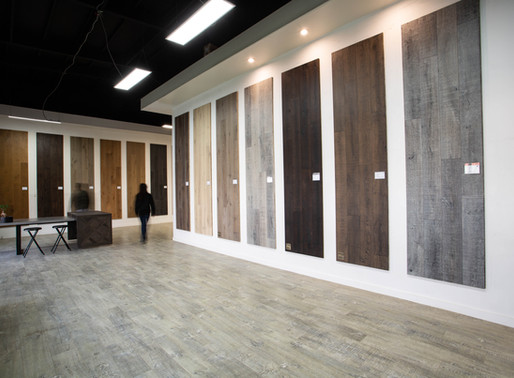 How to visit a flooring showroom