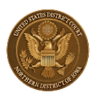 Iowa Federal Court Northern District Seal
