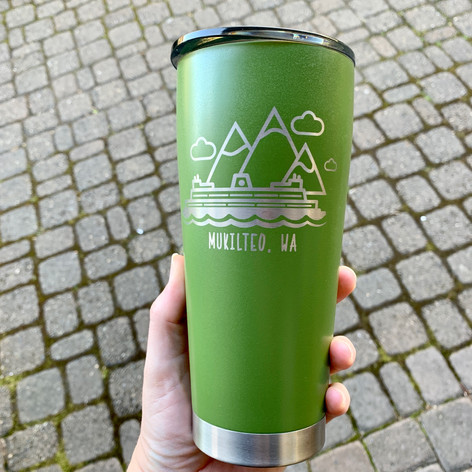 Insulated Mukilteo Bottles and Cups
