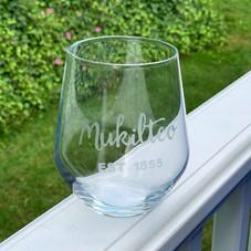 Etched Mukilteo Glasses