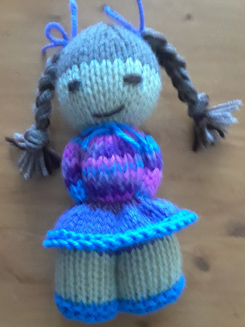 Doll in Dress