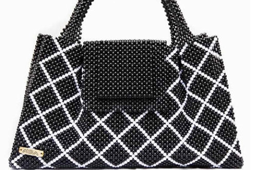 Diamond Mesh Patterned Bag