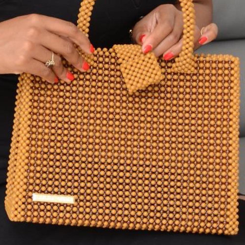 Brown Square Bag