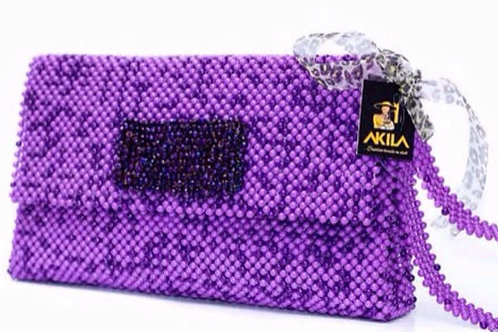 Coloured Clutch Purse (Shown in Purples)