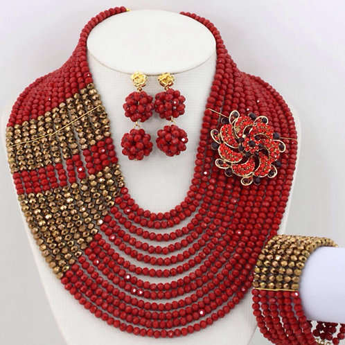 Colour and Gold jewellery sets