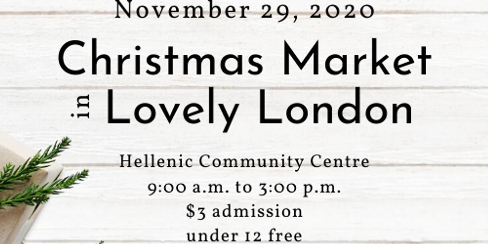Christmas Market in Lovely London