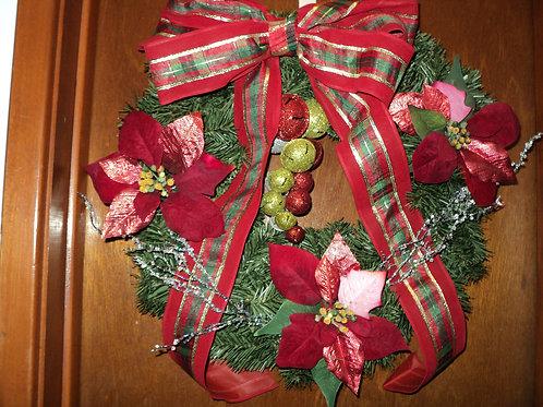 Jingle Bells and Poinsettia