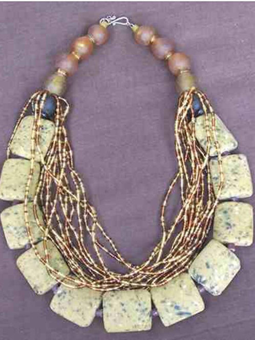 Culturally inspired necklace