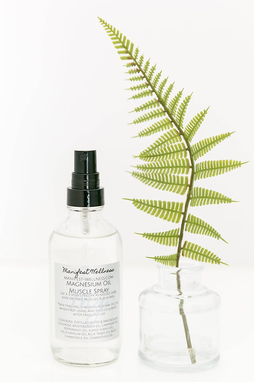 Magnesium Oil Spray Muscle Blend