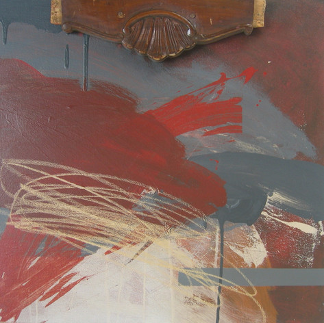 CHAIR_ 2012 Técnica mista s/ tela 50x50 cm