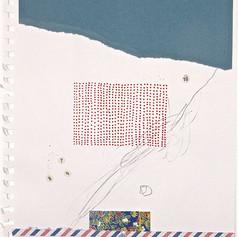 MAIL BOX_ 2003 Ecoline e grafite s/ papel 31x21 cm