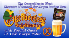 Join Candidate For Mayor, Shaunna O'Connell w/ Special Guest Lt. Gov. Karyn Polito