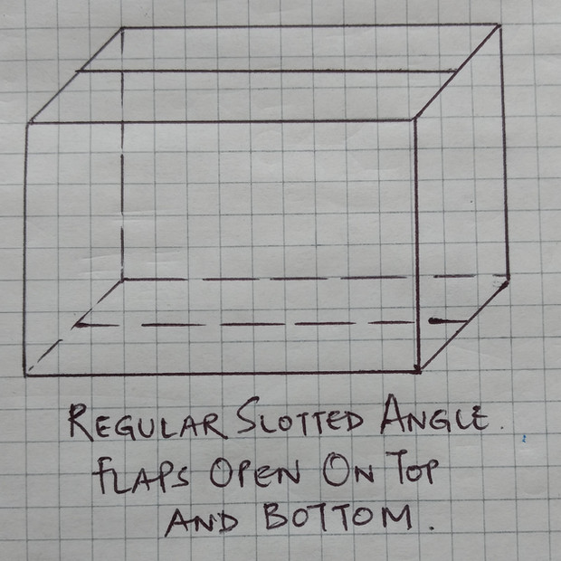 Regular Slotted Angle Carton