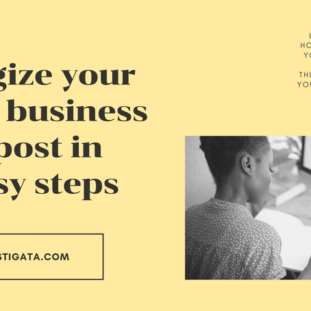 How to energize your small business blog post in 10 easy steps