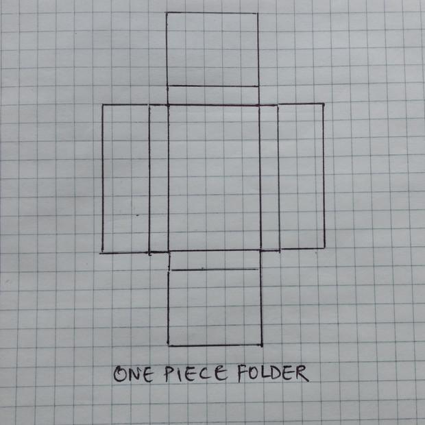 One Piece Folder Carton