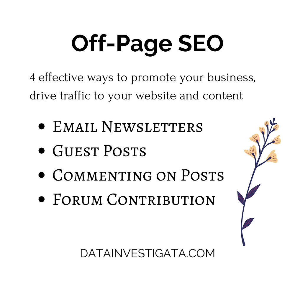 4 effective ways to promote your business through off-page SEO