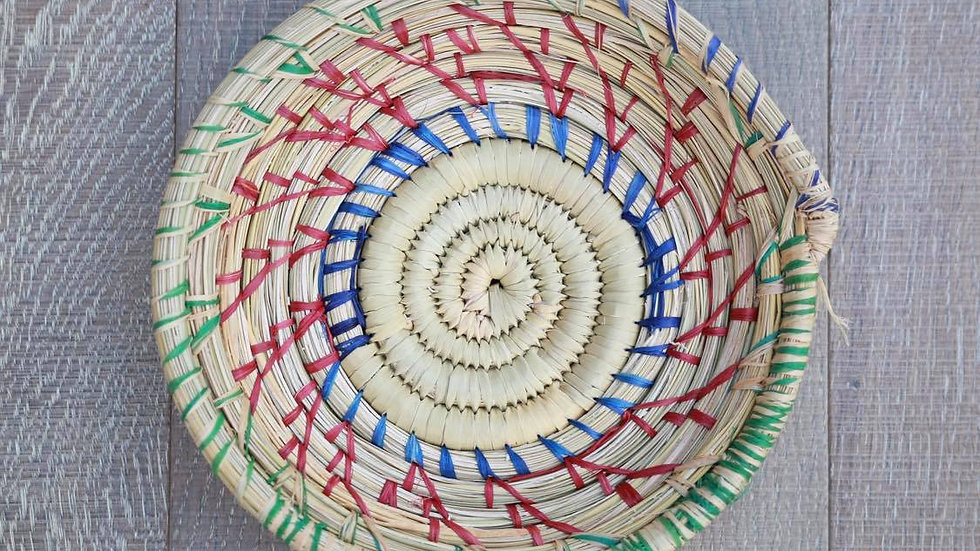 Hand Woven, Organic Sea-grass Basket