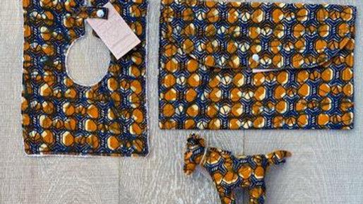 Baby set (orange-blue)