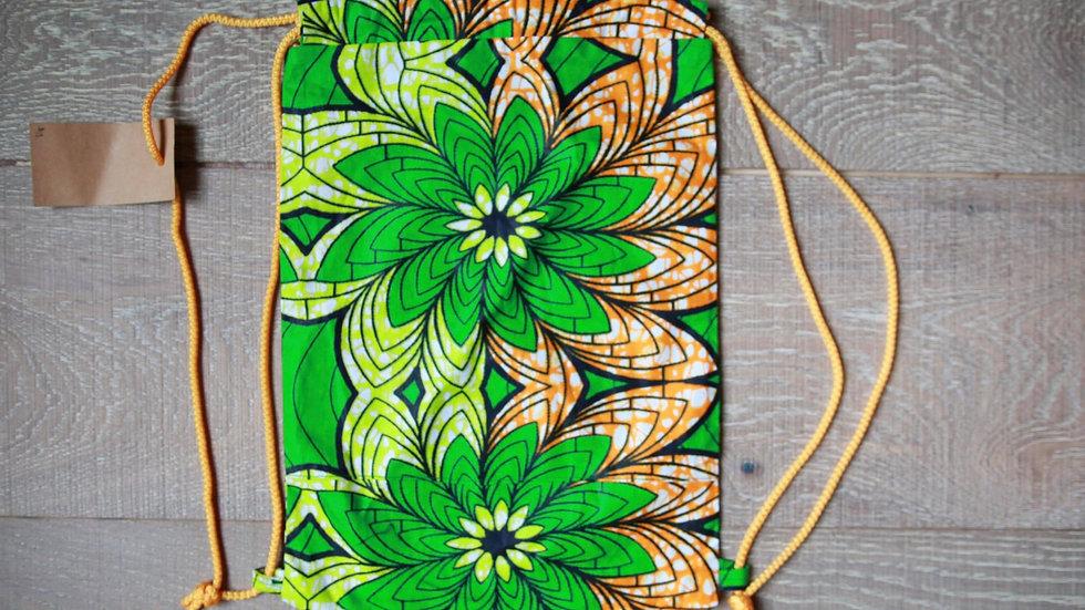 Palm Tree Draw-String Knapsack