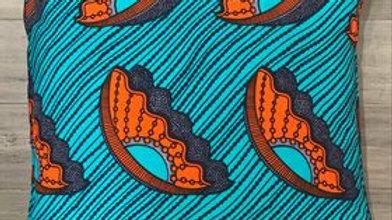Pillow Cover (orange shell)