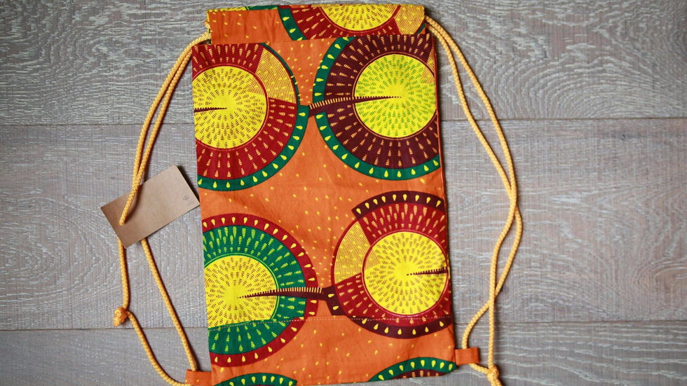 Open Sun Draw-String Knapsack