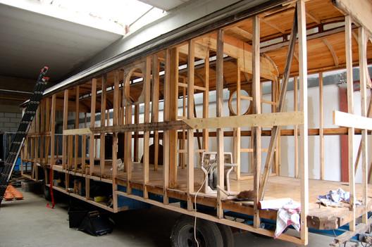 Renovatie woonwagen